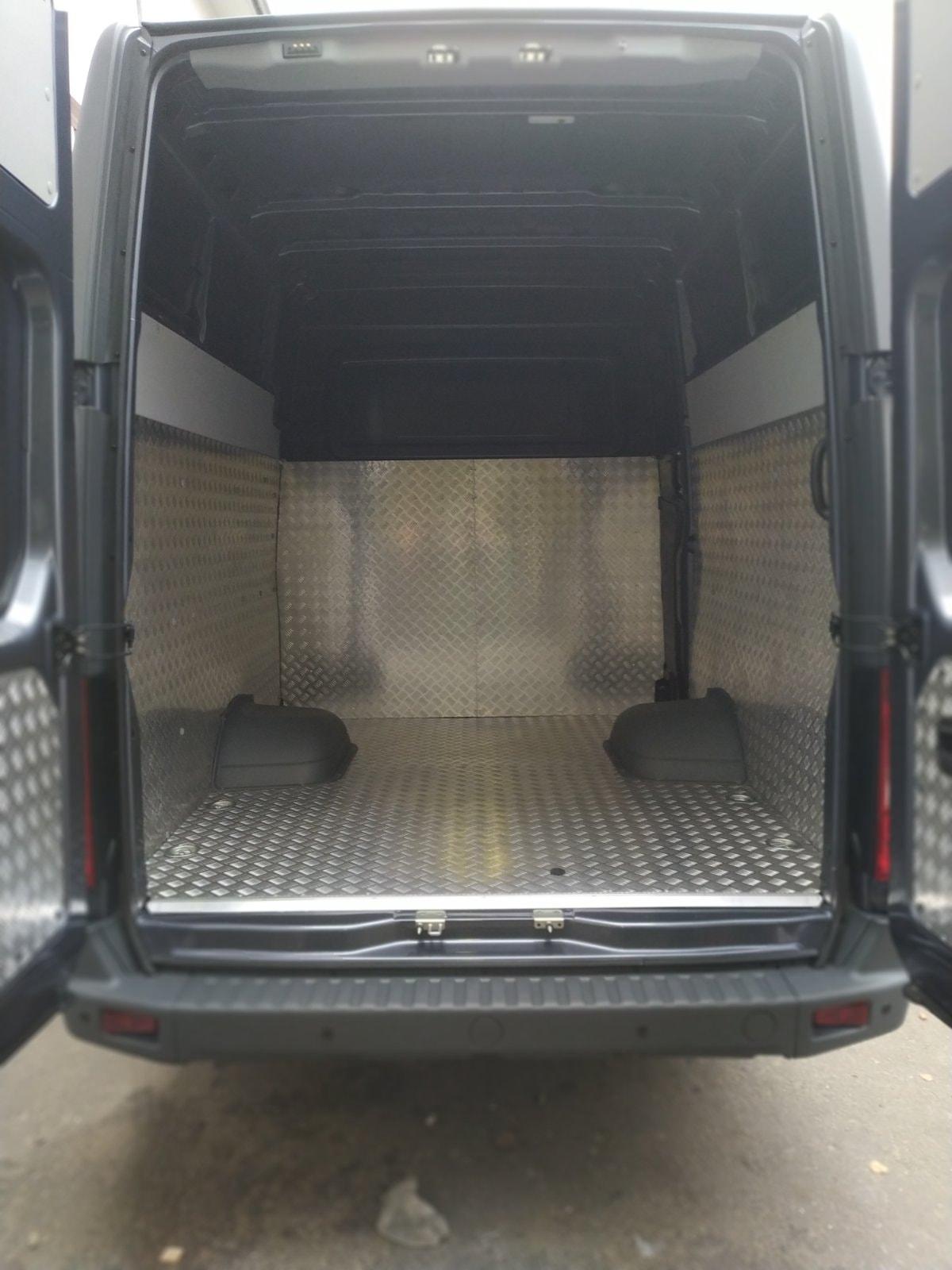 отделка нового грузового авто